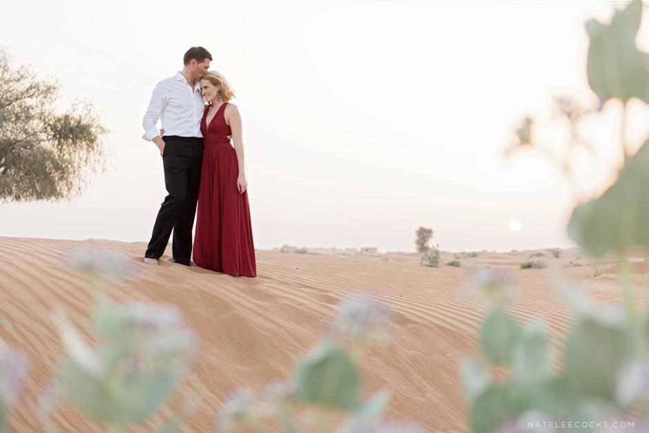 RAK Desert Couple Shoot Dubai