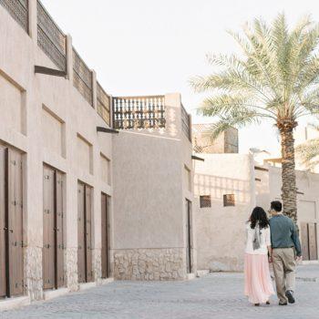 Flytographer - A Romantic Reunion in Dubai