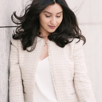 SPRING TWEED JACKET by The Blush Diaries