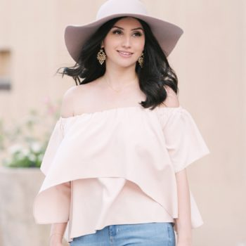 Off Shoulder Top by The Blush Diaries