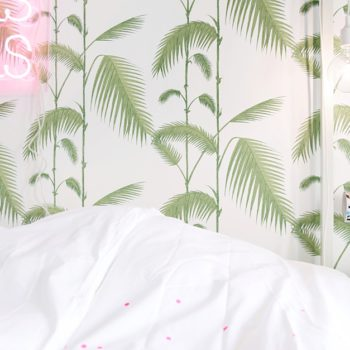 PINK & PALM LEAF PLEASURES by Live Loud Girl