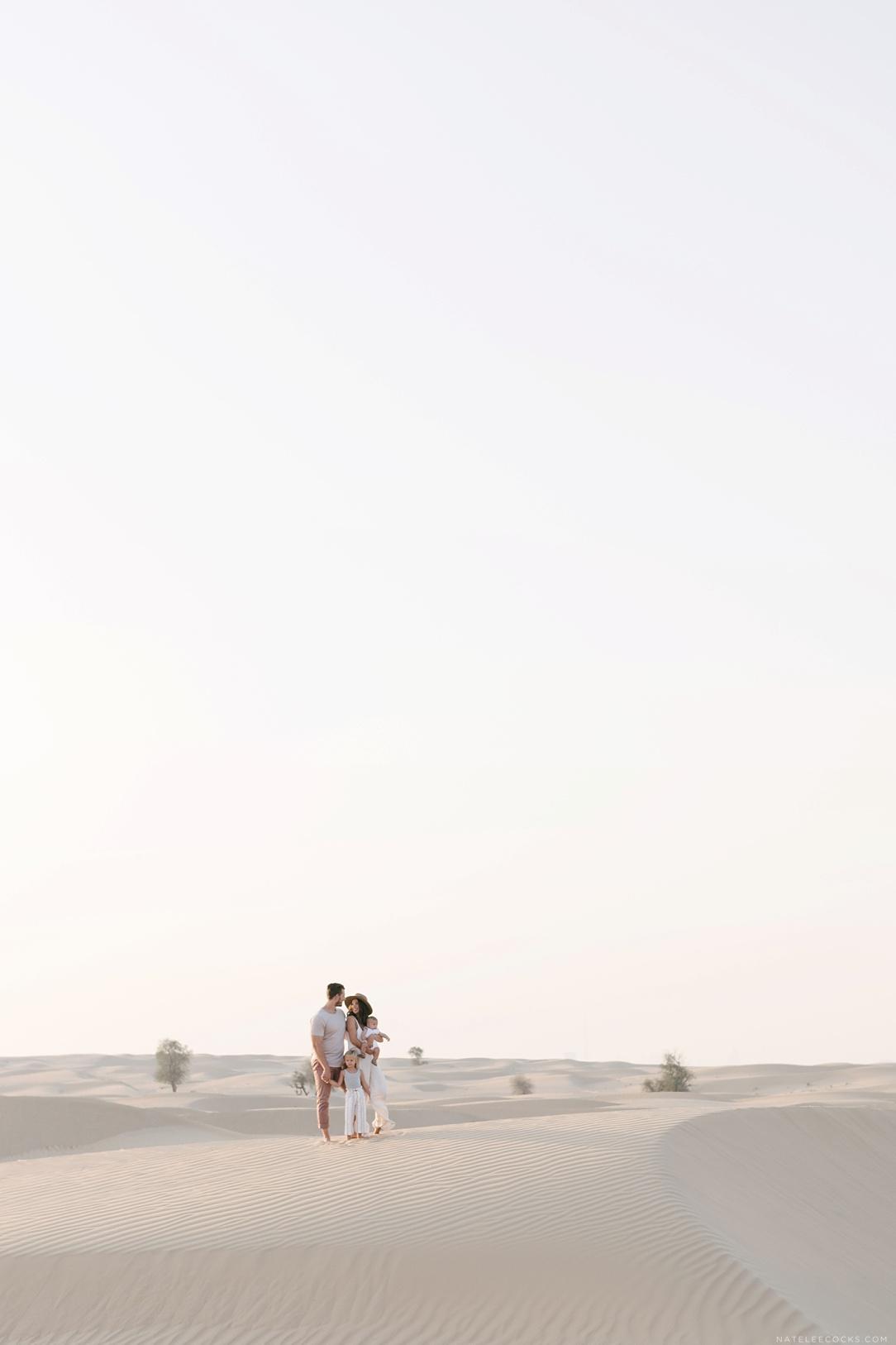 SUNSET TIME IN DESERT | Lucas Family